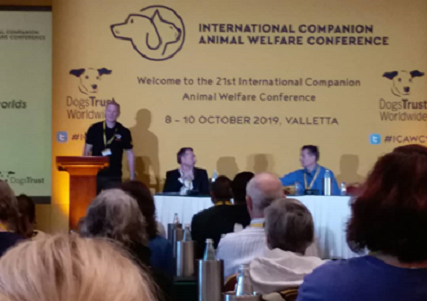 EAAW Attends the 21st Annual International Companion Animal Welfare Conference